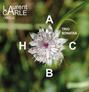 CD Bach Laurent Carle - Six sonates en trio